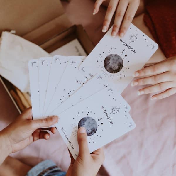 Cartes de rituels de nouvelle lune womoon