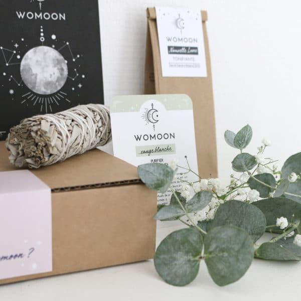 Sauge blanche pour la pleine lune et les rituels de lune