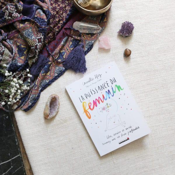 Livre La puissance du feminin par Camille sfez
