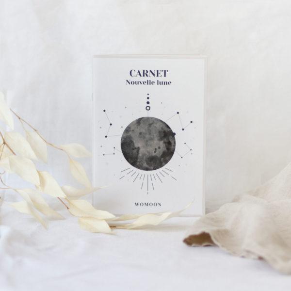 Carnet de rituels de nouvelle lune womoon