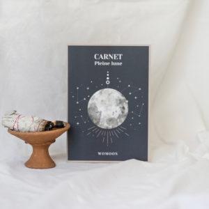 Carnet de rituels de pleine lune womoon