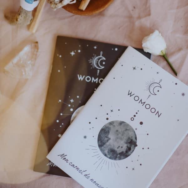 Carnets de rituels de nouvelle lune et pleine lune
