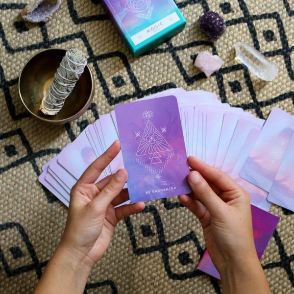 tirer une carte avec l'oracle inner star