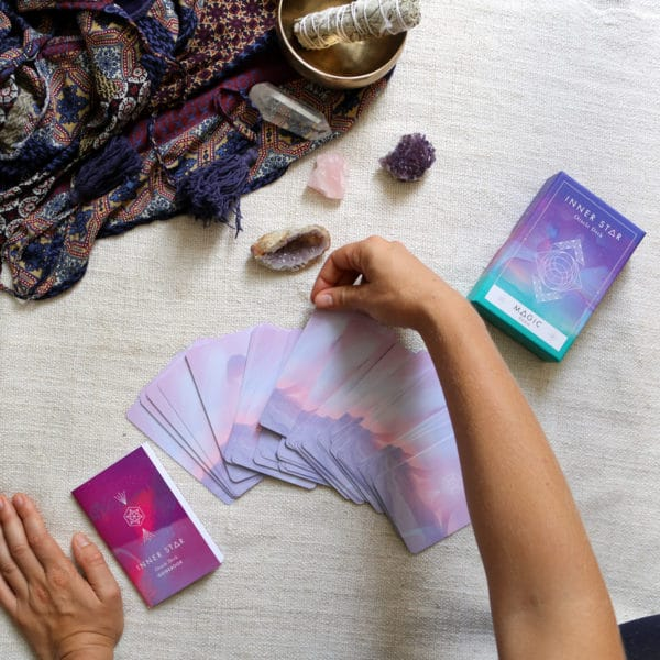 Tirage de cartes de l'oracle inner star edition magic