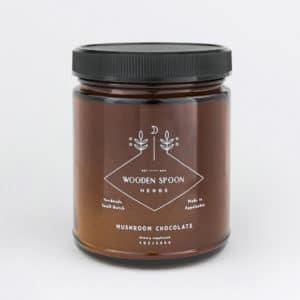 Mushroom Chocolate Wooden Spoon Herbs sur Womoon