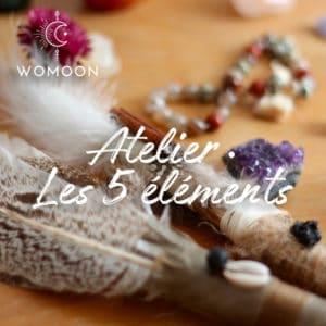 Atelier les 5 éléments womoon Nantes