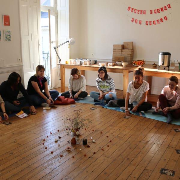 Participantes atelier womoon nantes