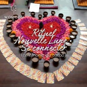 Rituel se (re)connecter ceremonie du cacao womoon