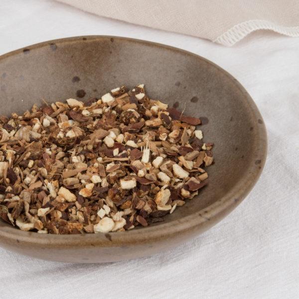 tisane bio noël womoon orange cacao