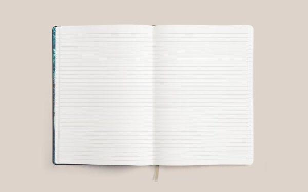 Carnet ligné journaling