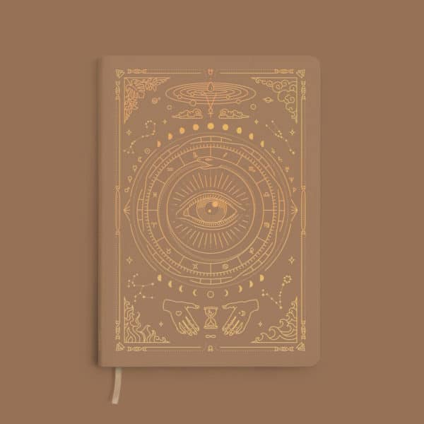 carnet journaling marron clair magic of I france