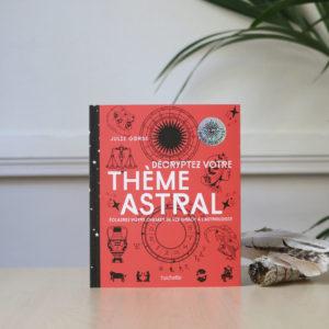 décryptez votre thème astral astrologie livre womoon