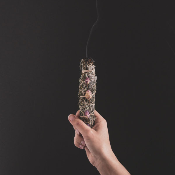 baton purification sauge womoon flos et luna