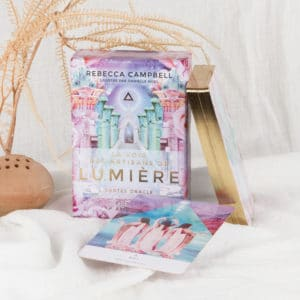 oracle voie des artisans de lumière en français Rebecca campbell womoon