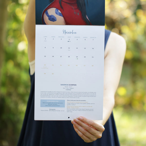 calendrier astrologique 2021 green mama womoon