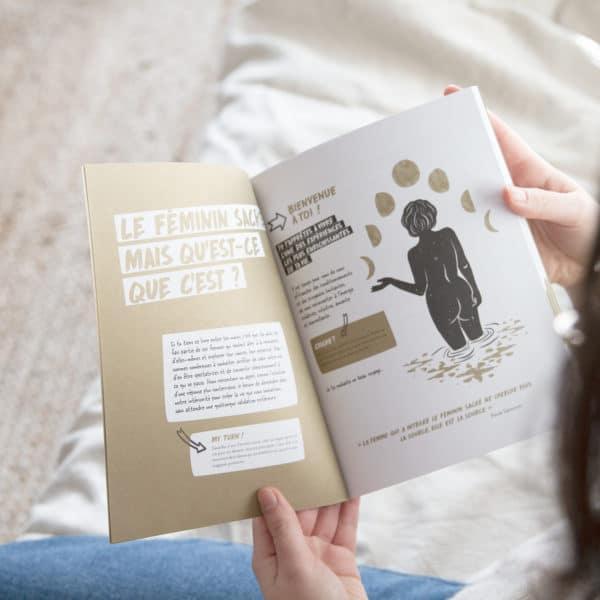 livre féminin sacré womoon