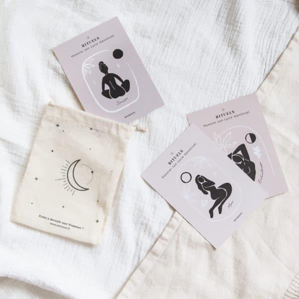kit rituels cycle menstruel womoon