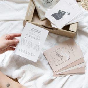 kits rituels spiritualité cycle menstruel