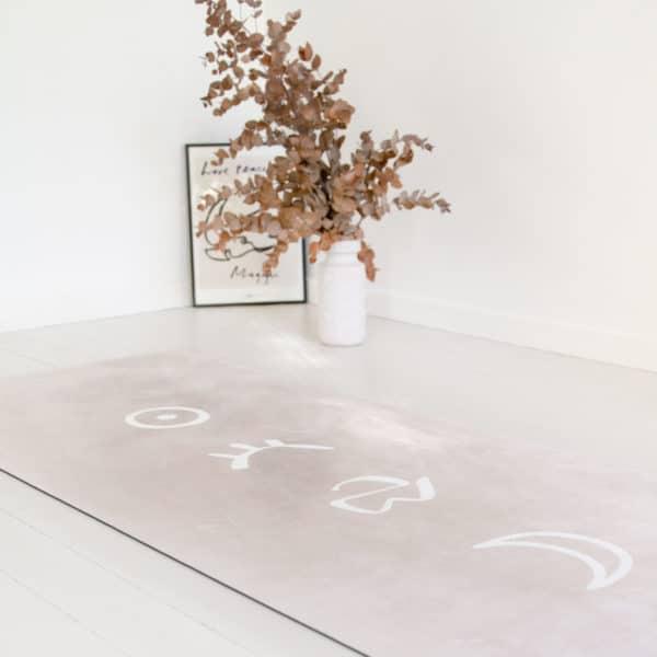 tapis yoga écologique womoon