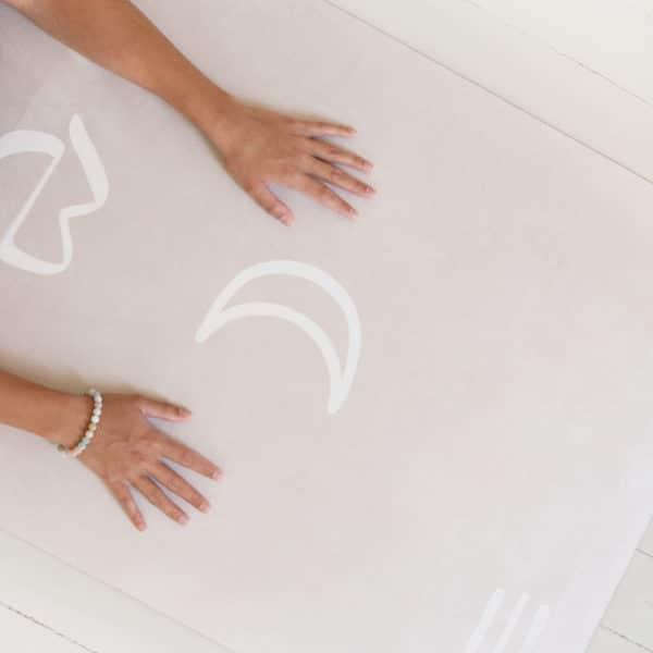 tapis yoga womoon spiritualité