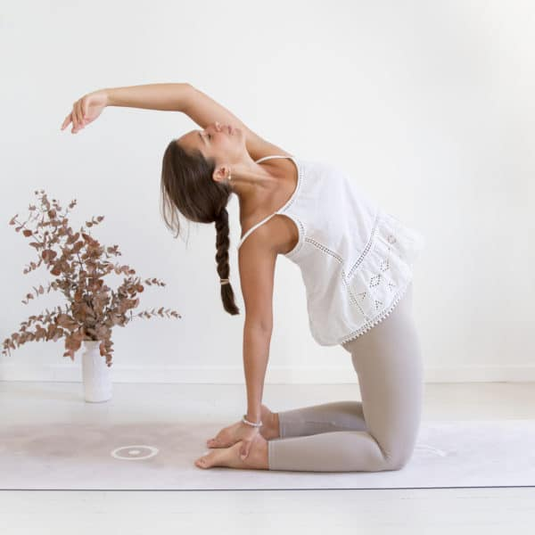 pilates tapis yoga écologique womoon