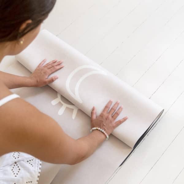 tapis de yoga écologique womoon