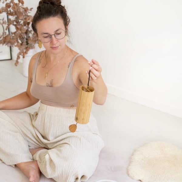 tapis yoga spiritualité womoon