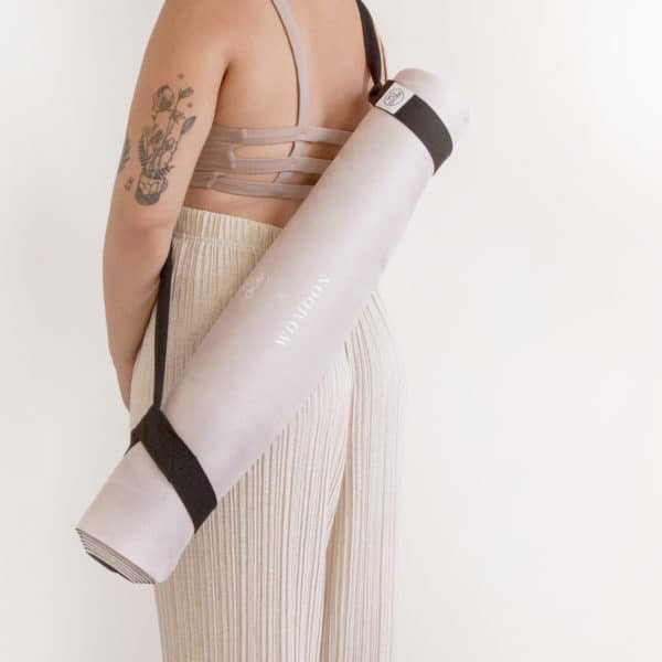 transport tapis yoga womoon sangle coton